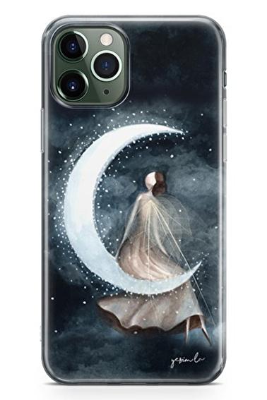 Lopard Apple İphone 11 Pro Max Kılıf Ay Peri Kapak Renkli